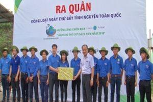 Ra quân Ngày thứ bảy tình nguyện làm cho thế giới sạch hơn
