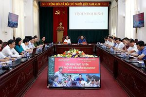 Ứng phó với bão Mangkhut: Ninh Bình tăng cường thông tin phòng chống siêu bão
