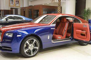 Siêu xe sang Rolls-Royce Wraith màu độc nhất nhất thế giới