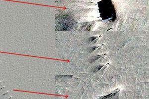 Hình ảnh nghi cơ sở vũ trụ bí ẩn ở Nam Cực