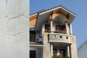 Cách khắc phục rạn nứt tường để ngôi nhà bền, đẹp