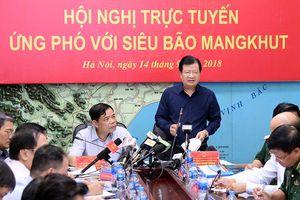 Các tỉnh từ Quảng Ninh đến Thanh Hóa ứng phó siêu bão Mangkhut