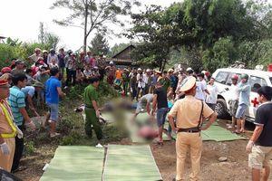 Hiện trường thảm khốc vụ xe khách va chạm xe bồn làm 13 người chết