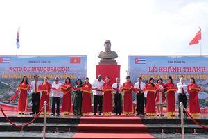 Công viên Fidel Castro tại Quảng Trị, thắm tình hữu nghị hai nước Việt Nam-Cuba
