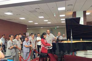 Phó Giám đốc BV 108 tiết lộ về chiếc đàn piano đặc biệt tại sảnh bệnh viện