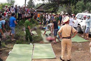 Hiện trường vụ tai nạn làm 12 người chết, 3 người nguy kịch ở Lai Châu