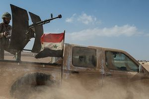 Quân Syria không kích phiến quân gần căn cứ al-Tanf của Mỹ