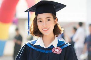 1 ngày trước khi hết nhiệm kỳ Hoa hậu Việt Nam, Đỗ Mỹ Linh nhận bằng tốt nghiệp Đại học