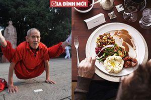 Cụ ông 100 tuổi và bí quyết sống trẻ: Luôn ăn một thứ sau bữa tối