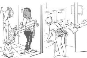 Biếm họa cuộc sống người da đen làm việc ở văn phòng toàn người da trắng những năm 1960