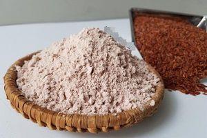 Công dụng làm đẹp da tuyệt vời từ bột cám gạo lứt