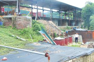 Huyện Quan Sơn tăng cường quản lý Nhà nước về môi trường tại các cơ sở chế biến lâm sản
