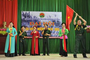 Bắc Giang: Hội truyền thống Trường sơn Đường Hồ Chí Minh Tự Lạn Việt Yên Đại hội nhiệm kỳ 2