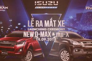 Isuzu ra mắt Mu-X và D-Max 2018 mới trang bị động cơ 1.9/3.0 Ddi Blue Power giá từ 650 triệu