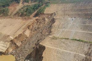Thủy điện Trung Sơn vận hành bình thường sau khi bị sạt trượt mái đào vai phải hố xói đập tràn