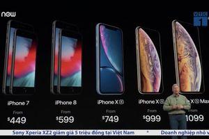 iPhone XR, XS, XS Max về Việt Nam có giá bao nhiêu?