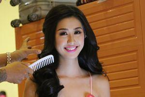 Hậu trường làm đẹp tất bật của 43 nhan sắc Hoa hậu Việt Nam 2018