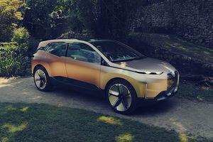 BMW iNext Concept ra mắt - crossover điện đến từ tương lai