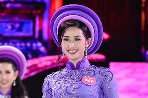 Thí sinh Hoa hậu Việt Nam 2018 đẹp nền nã trong tà áo dài