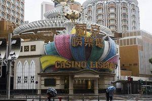 Macau lần đầu đóng cửa sòng bạc vì siêu bão Mangkhut