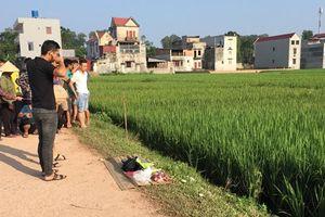 Nam thanh niên tử vong ở ruộng lúa sau khi ăn cỗ cưới về
