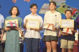 Trao giải cuộc thi 'Viết về cuốn sách yêu thích của em': 23 giải đã được trao
