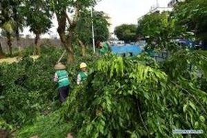 Phía nam Trung Quốc chịu nhiều ảnh hưởng của bão Mangkhut