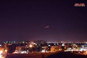 Phòng không Syria chặn đứng cuộc không kích của Israel