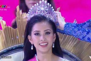 Người đẹp Quảng Nam Trần Tiểu Vy đăng quang Hoa hậu Việt Nam 2018