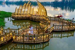 Rủ nhau check-in cây cầu tình yêu mới nổi, đẹp như mơ ở Sài Gòn