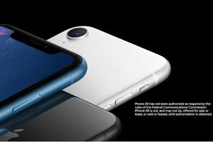 iPhone XR chưa nhận được sự chấp thuận của FCC, chưa được bán ra