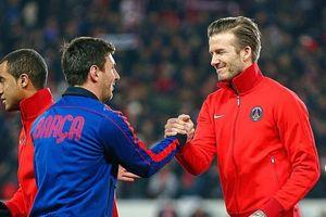 Beckham lên kế hoạch đưa Messi đến Mỹ