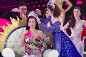 Trần Tiểu Vy vỡ òa cảm xúc đăng quang ngôi vị Hoa hậu Việt Nam 2018