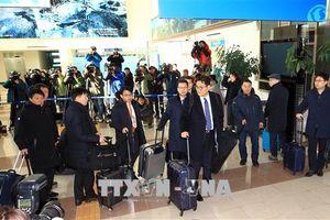 Đoàn tiền trạm Hàn Quốc tới Bình Nhưỡng chuẩn bị Hội nghị thượng đỉnh liên Triều lần 3