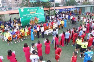 Khai mạc giải bóng đá phong trào 'Thanh Chuong Open 2018'