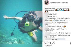 'Thánh lầy' Đức Huy U23 đáp trả cực hài hước khi bị một shop online tranh thủ quảng cáo hàng