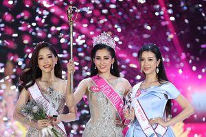 Thí sinh Trần Tiểu Vy đăng quang Hoa hậu Việt Nam 2018