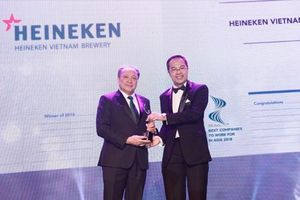 Heineken Việt Nam trở thành nơi làm việc tốt nhất châu Á