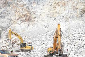 Chính quyền tỉnh Hà Nam ''im lặng'' vụ Công ty Hồng Hà sai phạm trong khai thác mỏ đá