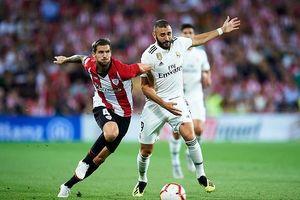 Benzema mờ nhạt, Real chia điểm với Athletic Bilbao