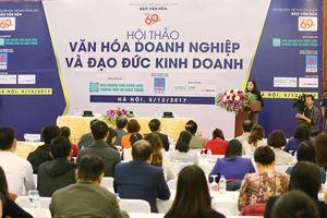 Bộ VHTTDL tổ chức Hội thảo 'Văn hóa Doanh nghiệp và Đạo đức kinh doanh'