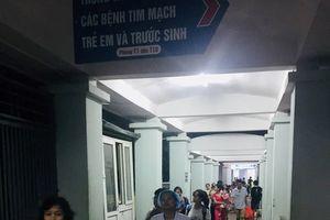 Vụ cháy nhà tại Đê La Thành: Bệnh viện Nhi Trung ương nhanh chóng đảm bảo an toàn cho bệnh nhân