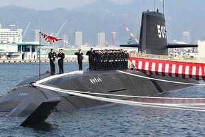 Tàu ngầm Nhật Bản lần đầu tham gia diễn tập ở Biển Đông