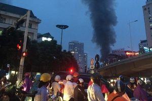 Hà Nội: Cháy lớn nhà dân trên đường Đê La Thành