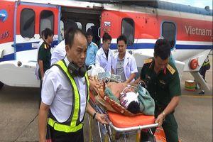 3 ngư dân gặp nạn ở Trường Sa do sóng to
