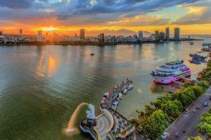 Cảnh sắc rực rỡ ở thành phố đáng sống nhất Việt Nam
