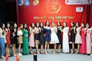 20 nữ sinh tranh tài tại cuộc thi Hoa khôi sinh viên Việt Nam