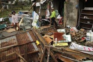 Ước tính 100 người thiệt mạng vì siêu bão Mangkhut ở Philippines