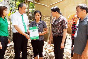 Mai Linh cứu trợ người dân vùng lũ ở Thanh Hóa