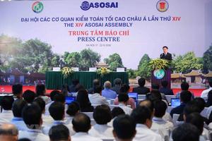 Khai trương Trung tâm Báo chí và họp báo về Đại hội ASOSAI 14